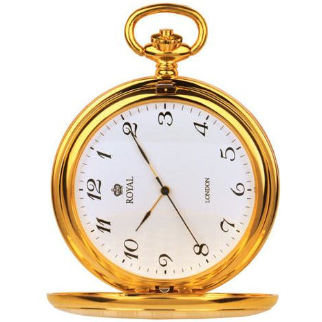 Gold Pocket Watch Royal London Pocket Watch 90020.02