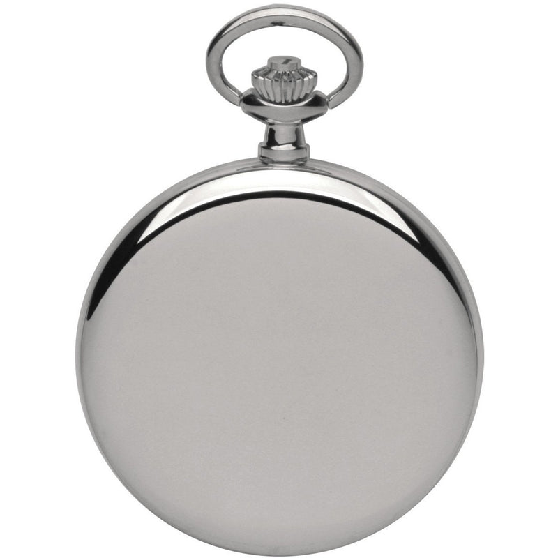 Silver Pocket Precision Quartz Watch