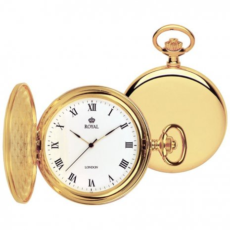 Gold Pocket Precision Quartz Watch