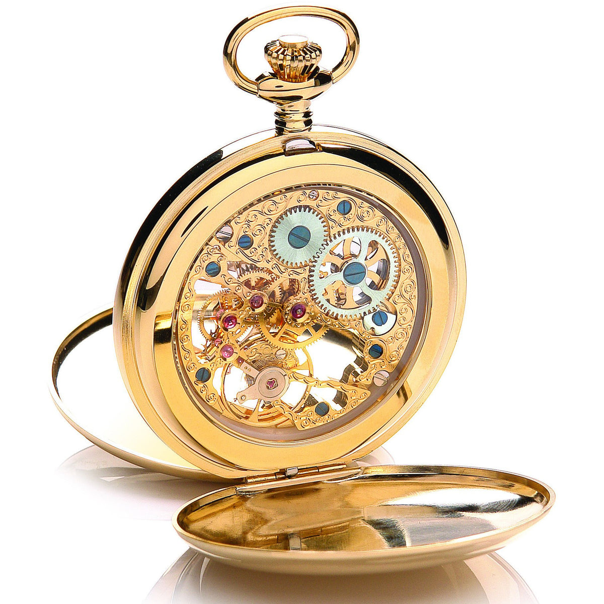 Gold Mechanical Pocket Watch 90028.02