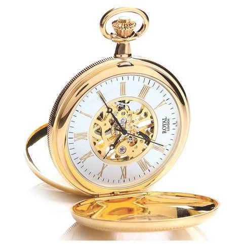 Gold  Mechanical Pocket Watch