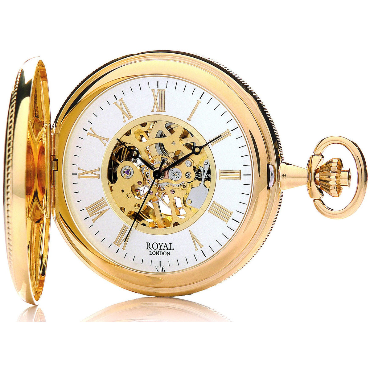 Gold  Mechanical Pocket Watch 90029.02