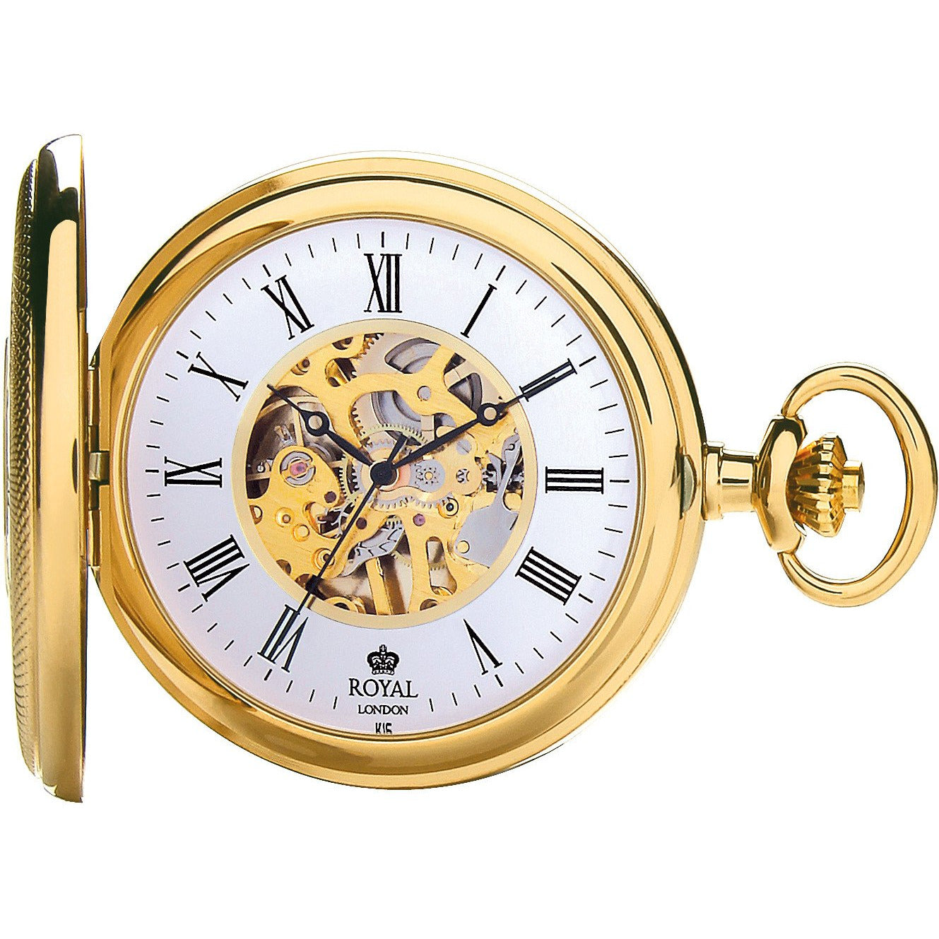 Mechanical Gold  Pocket Watch 90047.02