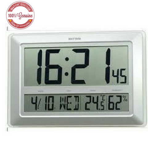 Large XXL Rhythm Digital Wall Clock LCW0011NR19