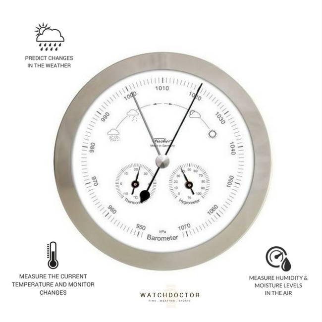 Modern Chrome Weather Station