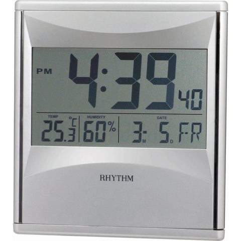 Rhythm Digital Wall Clock LCW0011NR19