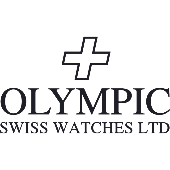 Mens Olympic Work Watch - White - Baton Hands