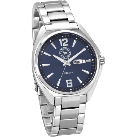 Outback Stainless Steel Navy Dial Workwatch