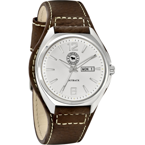 Outback Brown Leather Work Watch