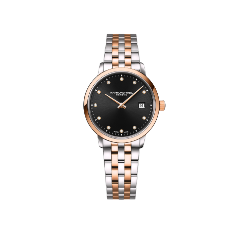 Toccata Ladies Two-tone Rose Gold 11 Diamond Quartz Watch
