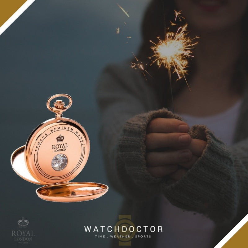 Stunning Rose Gold Pocket Watch