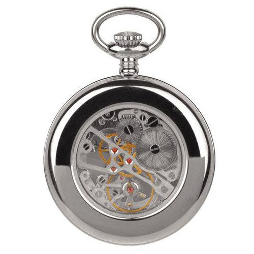 Unisex Silver Pocket Watch 90002.01