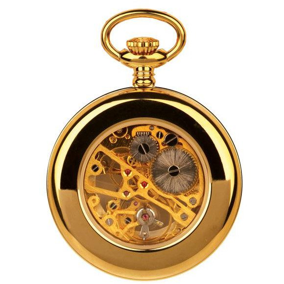 Unisex  Gold Pocket Watch