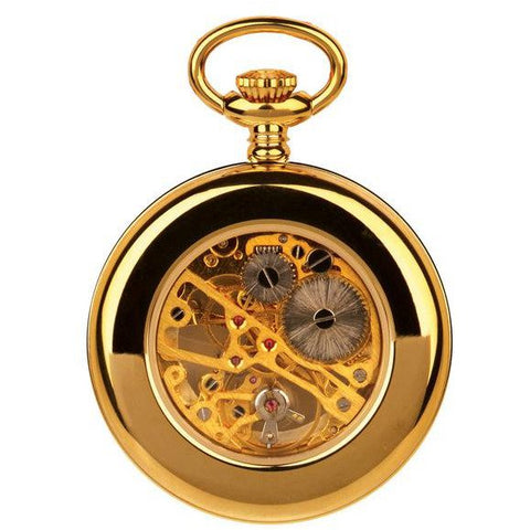 Unisex  Gold Pocket Watch 90002.02