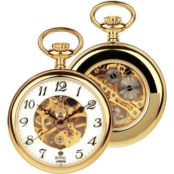 Royal London Gold Pocket Watch 90002.02