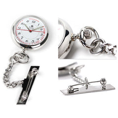 Medical Silver Nurses Watch