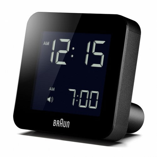 Braun LCD medium Alarm Clock Black