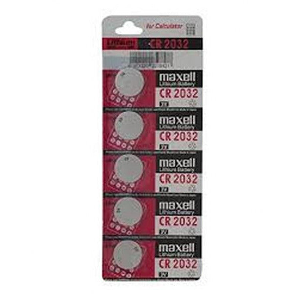 Replacement Batteries CR2032 5 pack
