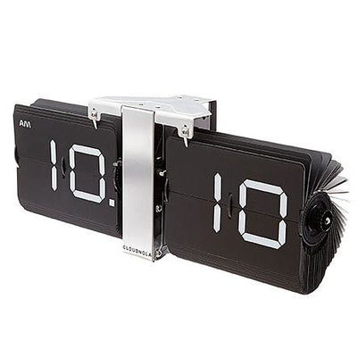 Flipping Out  - Black and Silver Flip Clock