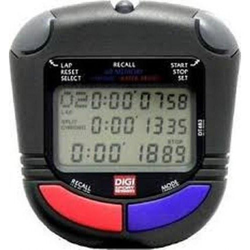 Water Resistant Sports Stopwatch