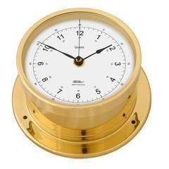 Precision Brass Clock Made By Fischer Germany 103PMU