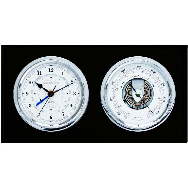 Time and Tide Black Fischer Barometer Combo 1486gu-06