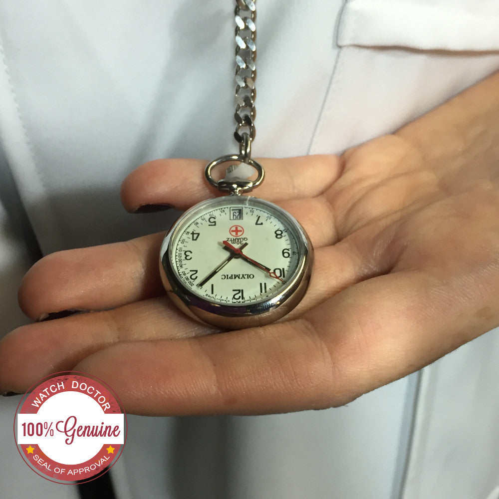 Silver nurses watch