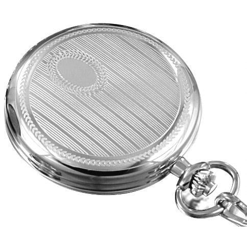 Stylish Olympic Silver Pocket Watch