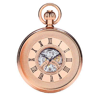 Rose Gold 17 Jewel Mechanical Watch