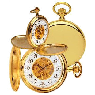 Mechanical Gold Pocket Watch 90004-01