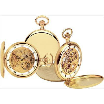 oyal London Double Opening Pocket Watch 90016-02