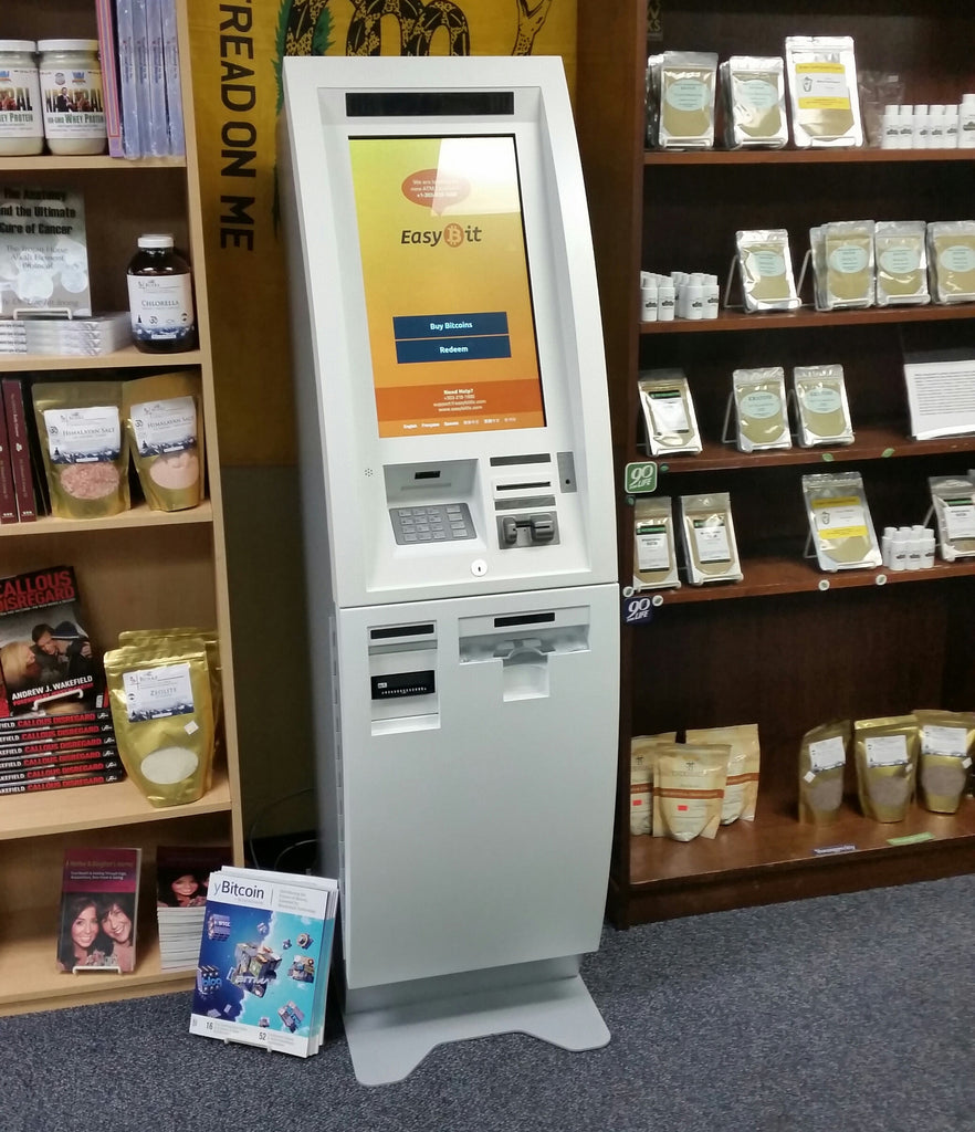 Bitcoin ATM Now Available at Brave New Books