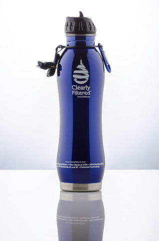 Stainless Steel Water Bottle with Filter