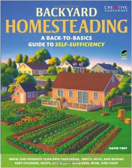 Backyard Homesteading: A Back-To-Basics Guide to Self-Sufficiency (Green)
