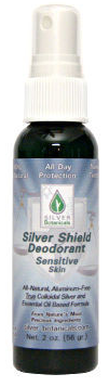 Silver Shield Deodorant Spray Sensitive