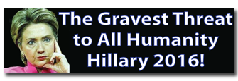 """The Gravest Threat to Humanity"" Bumper Sticker"