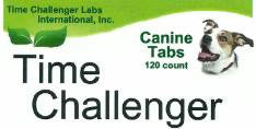 Time Challenger canine tabs