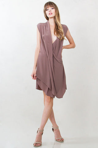 TAUPE OF THE WORLD DRESS
