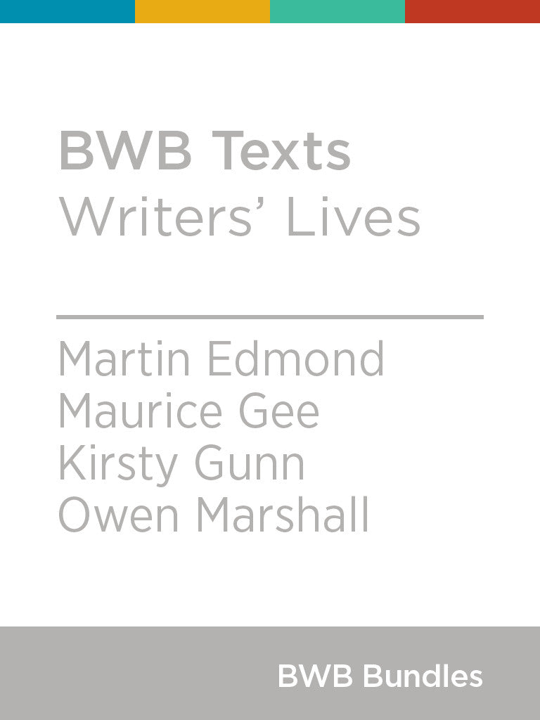 BWB Texts: Writers' Lives