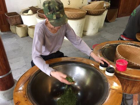 dragon well green tea processing meimei fine teas