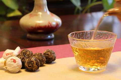 brewing tea puerh tea Meimei Fine Teas