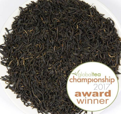 Award-winning Keemun Qimen gongfu black tea