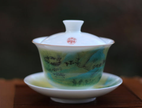 gaiwan chinese gongfu cha brewing vessel