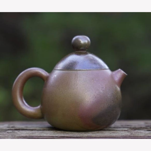 Artisan Jianshui Clay Wood-fired Teapot Dragon Egg Long Dan - MeiMei Fine Teas