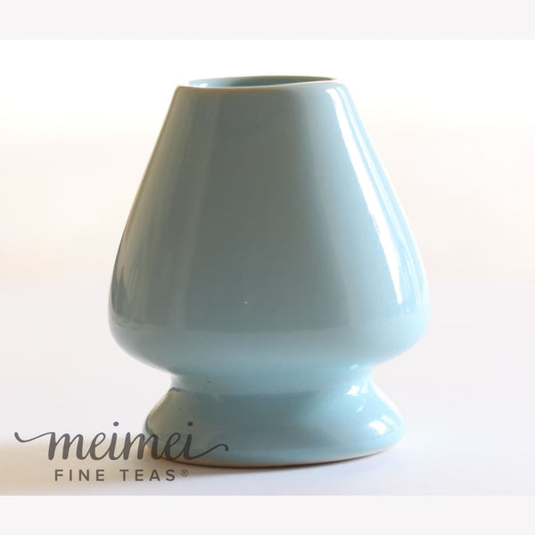 Matcha Whisk Holder - Celadon Blue - MeiMei Fine Teas