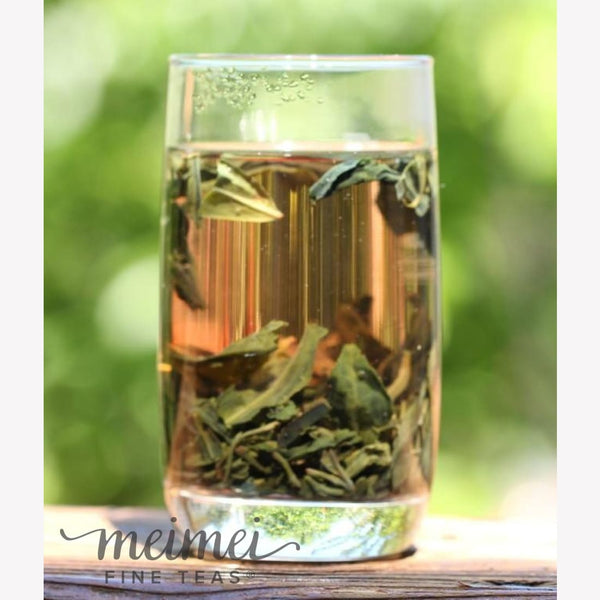 Purple Buds Green Tea - MeiMei Fine Teas