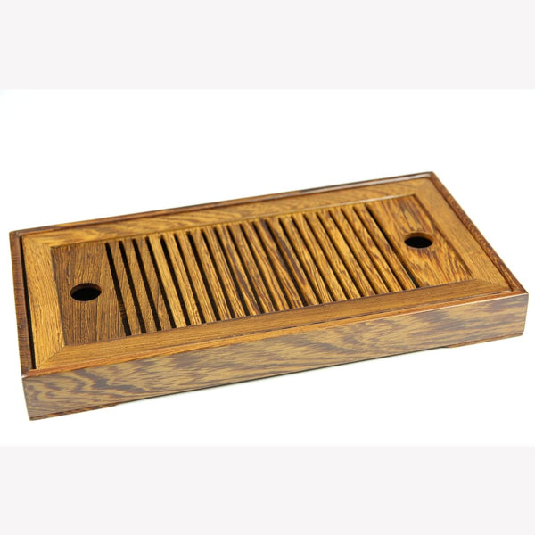 Tea Ware Gongfu Tea Tray - Low Profile Bamboo - MeiMei Fine Teas
