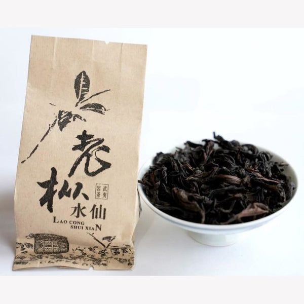 Wuyi Rock Oolong Tea Old Bush Shui Xian Narcissus - MeiMei Fine Teas