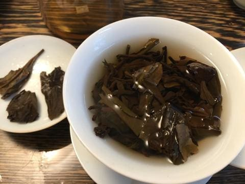 gaiwan brewing gongfu cha Chinese tea