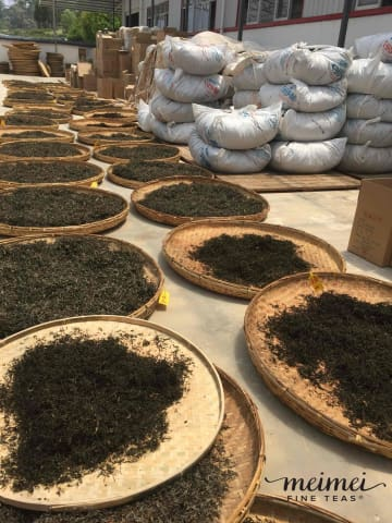 Yunnan wild ye sheng ancient tree black tea dian hong